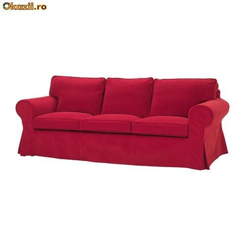 На фото: Кожаный диван Остин новый раскладной
